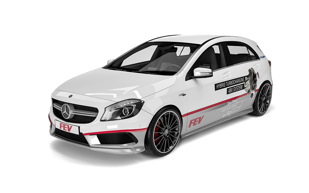 Alternative Powertrains - 48V Turbo Charged Mercedes A45 AMG