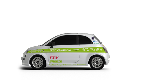 Alternative Powertrains - FEV Breeze Fuel Cell